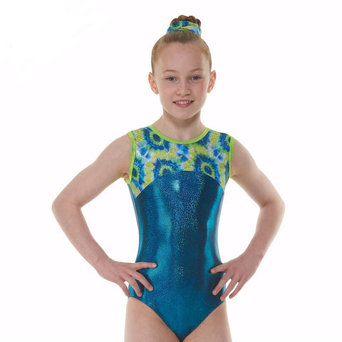 Tappers And Pointers SL Coral Gymnastics Leotard