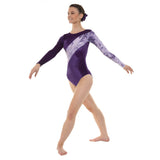 Tappers and Pointers Smooth Velvet Gymnastics Leotard