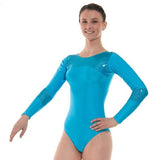 Tappers and Pointers LS Lycra/Holo Gymnastics Leotard