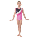Tappers and Pointers Velvet & Foil Gymnastics Leotard