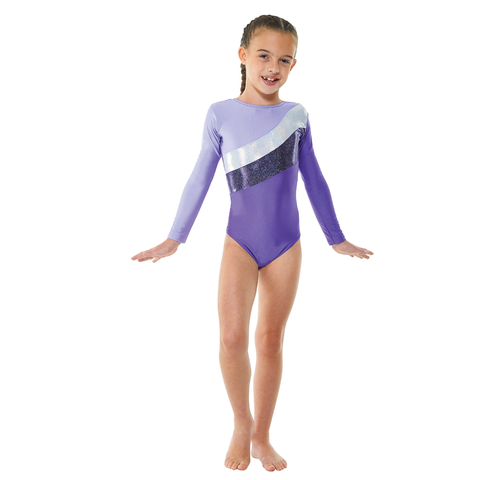 Tappers & Pointers Long Sleeved Lycra Gymnastics Leotard