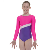 Tappers and Pointers LS Lycra Gymnastics Leotard