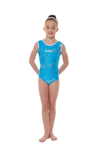 Tappers & Pointers Short Sleeve Lycra Gymnastic Leotard