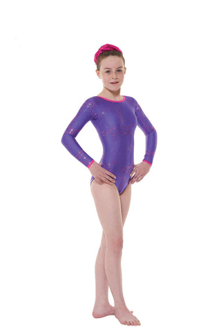 Tappers & Pointers Long Sleeve Lycra Gymnastic Leotard