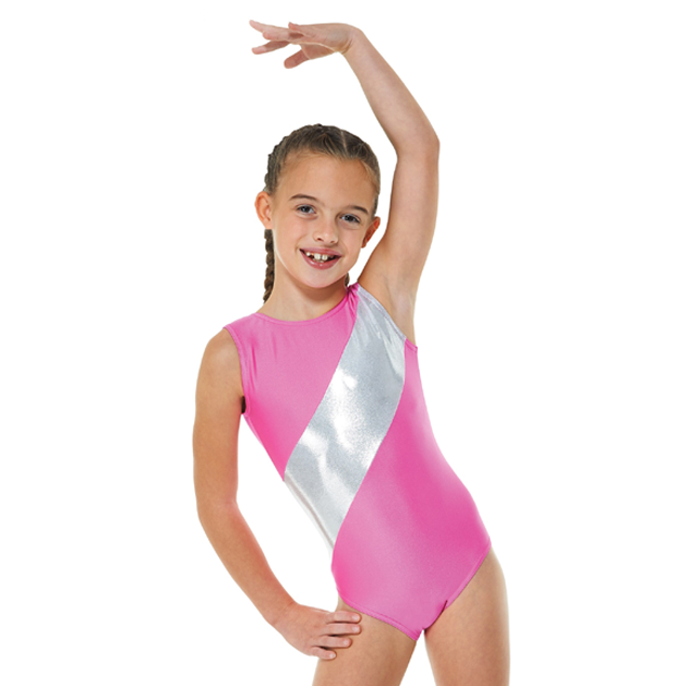 2f25cacdc14f Tappers and Pointers Lycra & Platinum Shine Gymnastics Leotard – Bea ...