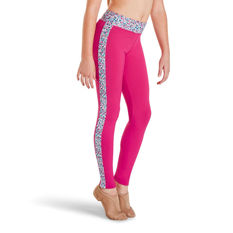 KAIA BY BLOCH PINK WITH LIBERTY BERRY PRINT LEGGING KA022P. TONBRIDGE DANCEWEAR