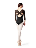 Bloch Lila Diamond Flock Leotard