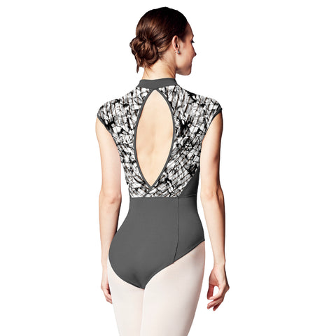 Bloch Carolein Zipper Cap Sleeve Leotard