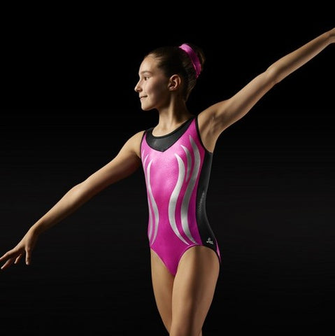 Flame Tank Gymnastics Leotard