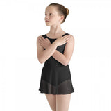 Mirella Bow Skirted Tank Leotard