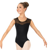 Bloch Adults Cap Sleeve Leotard