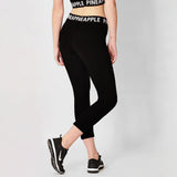 Pineapple Band Logo Crop Legging