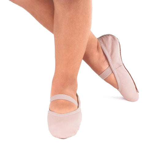 So Danca Leather Full Sole Ballet Shoe