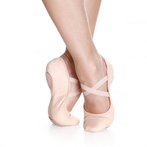 So Danca Leather Split Sole Ballet Shoe