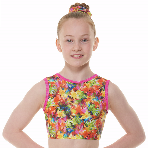 Tappers and Pointers Starburst Crop Top