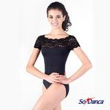 So Danca Short Sleeved Leotard