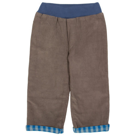 Kite Reversible check Pull Up Trousers