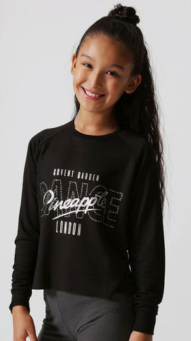 Pineapple LS Dance Slouchy Top