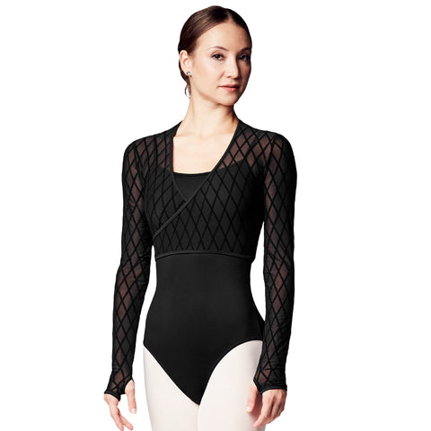 Bloch Zalika Diamond Flock Wrap