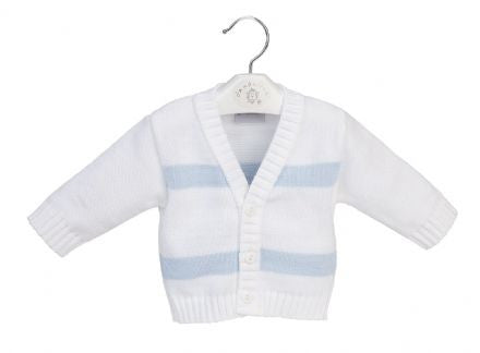 Boat Design Knitted Cardigan