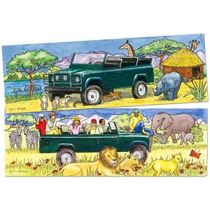 BigJigs Jeep Duo Puzzle