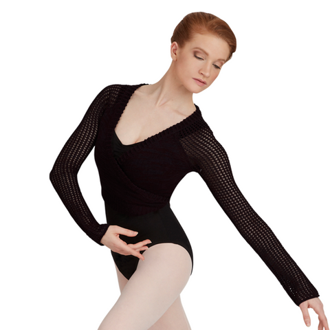 Capezio Crop Wrap Top