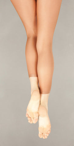 Capezio Child Footless Tights