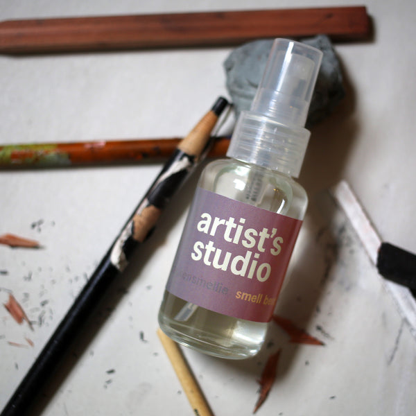 artist's studio - smell bent  - 2