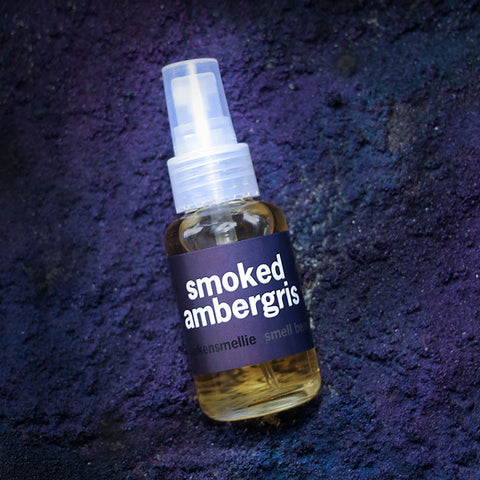 smoked ambergris