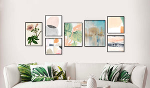 Florals & Abstracts Gallery Wall