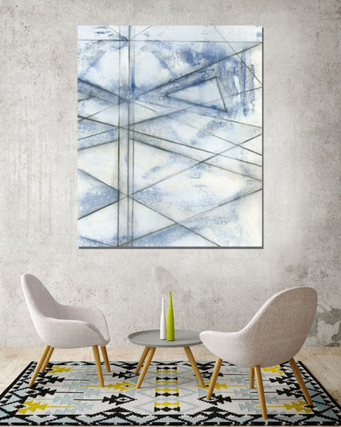abstract art on canvas