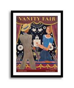 Vanity Fair Magazine Cover October 1930 Carnival Shooting Gallery