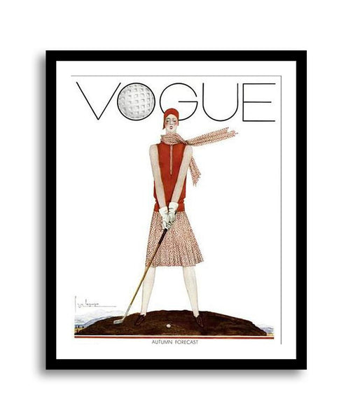Vogue Cover July 1929 Tee Time