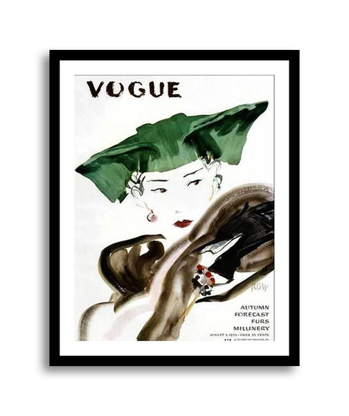 Vogue Cover August 1935