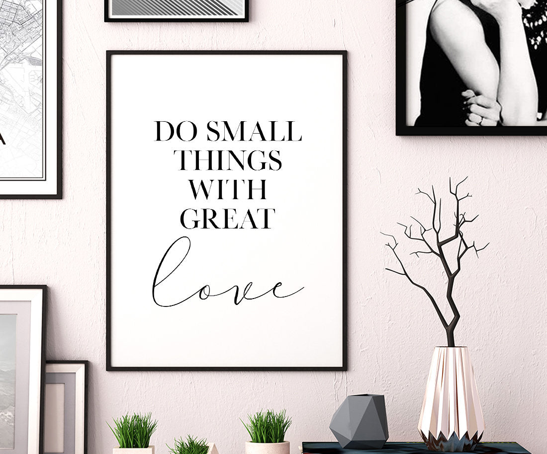 Small Things Wild Poster