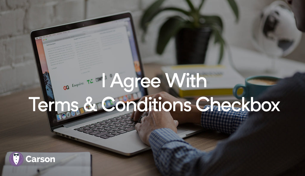 """I agree with Terms & Conditions"" checkbox"