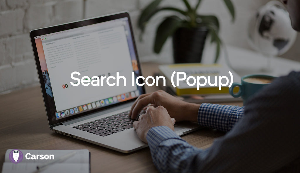 Search Icon (popup)