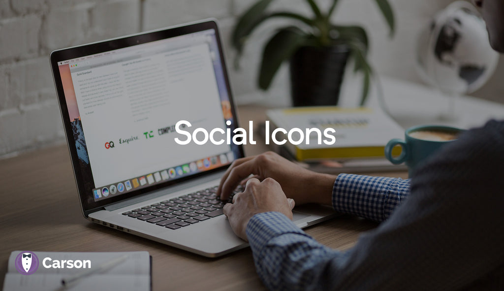 Social Icons On Footer