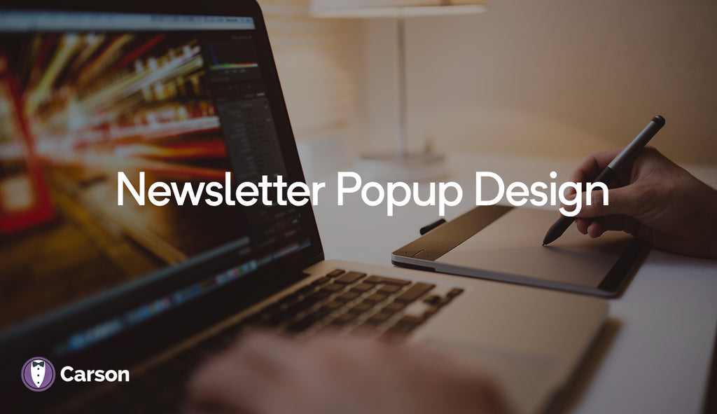 Newsletter Popup Design