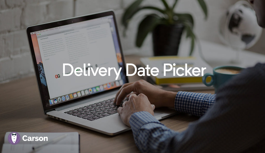 Delivery Date Picker On Cart Page