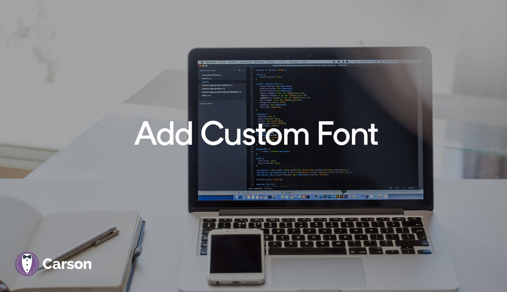 Add Custom Font