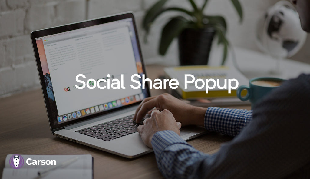 Social Share (popup)