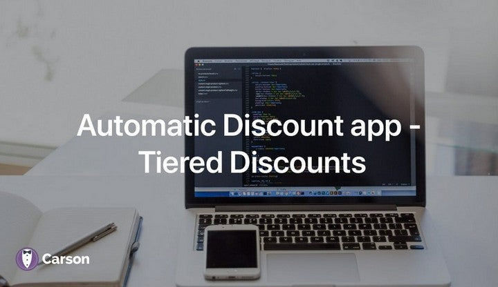 Automatic Discount app - Tiered Discounts