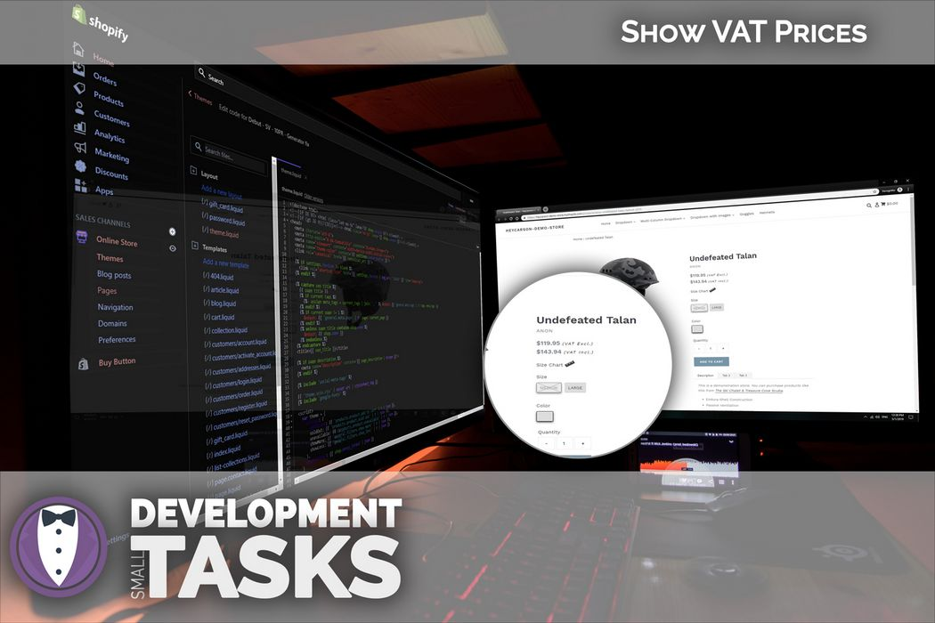 Show VAT prices on your product pages