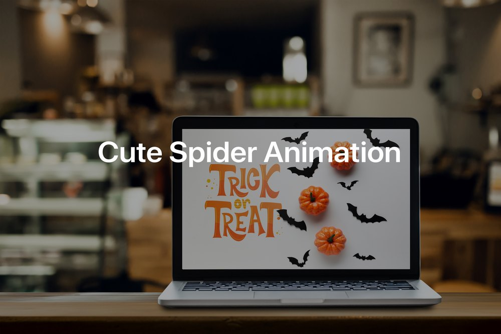 Cute Spider Animation