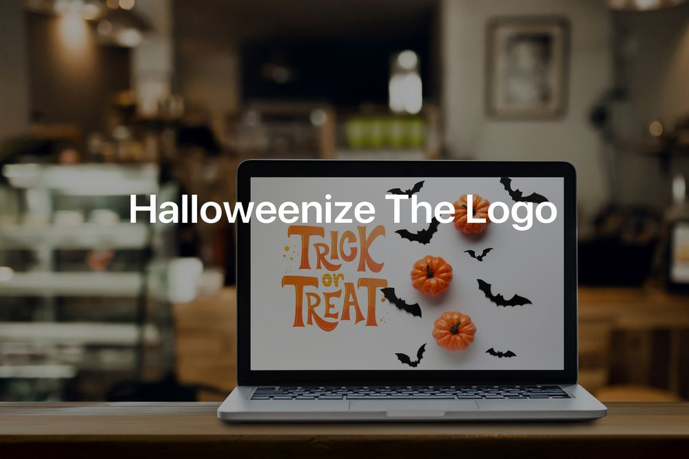 Halloweenize the Logo