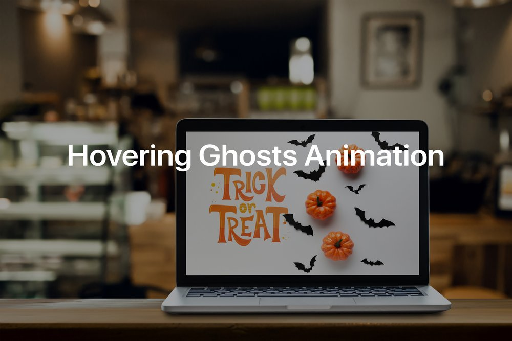 Hovering Ghosts Animation