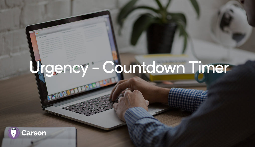 Urgency - Countdown Timer