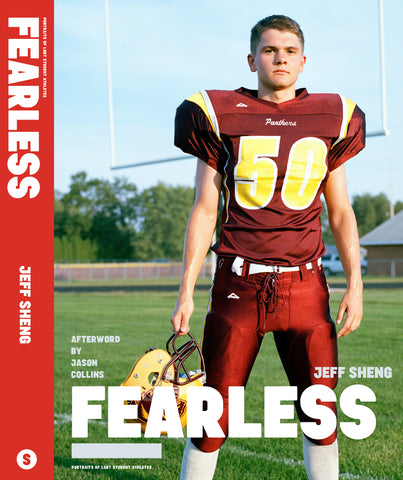HARDCOVER PHOTOBOOK - FEARLESS: Portraits of LGBT Student Athletes     $39.50
