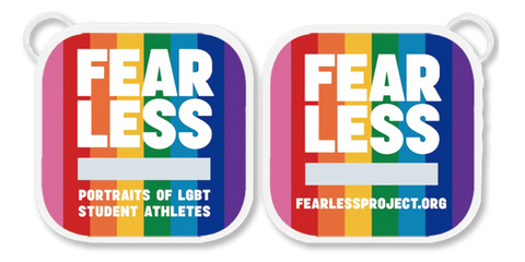 Digital Version of FEARLESS Book on Rainbow Logo 4GB Flash Drive